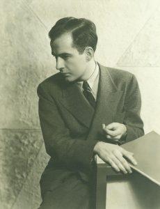 Barber with score, 1937. Ilse Hoffmann, photographer.